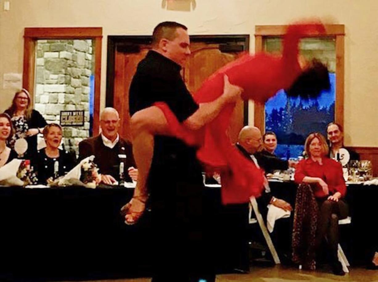 Ridgefield: Scot Brantley, project manager for Clark County Public Works, was named Grand Champion of Dancing With the Local Stars, a fundraiser for the Rotary Club of Three Creeks.