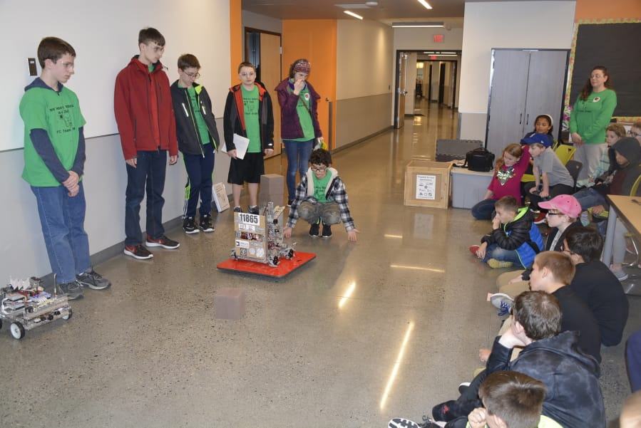 4 H Robotics Club Drums Up Interest From Younger Students The