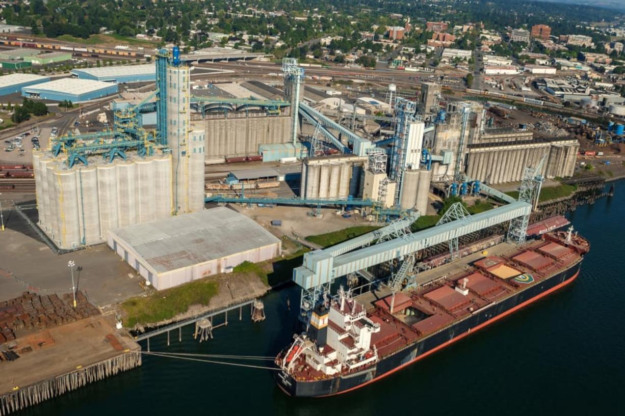 United Grain Corp. said it has already seen impacts in business after China suggested tariffs on soybeans and more than 100 other U.S. products. The company is the largest exporter at the Port of Vancouver. (Courtesy of United Grain Corp.)