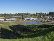 The empty lot on the southeast corner of Northeast 117th Street and Northeast Highway 99 has entered the early stages of development.