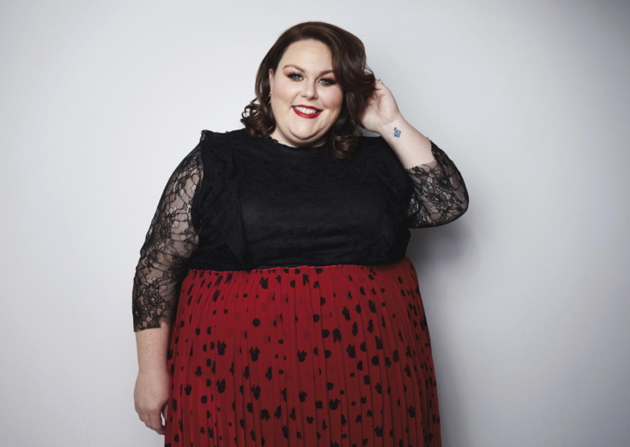 "Actress Chrissy Metz, from the NBC series ""This Is Us,"" has released her memoir, ""This Is Me."" Taylor Jewell/Invision"
