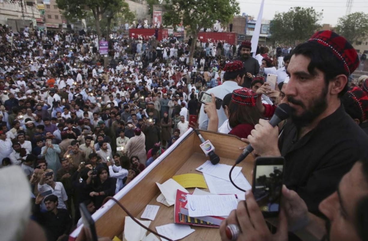 Manzoor Pashteen Leader of Pashtun Protection Movement