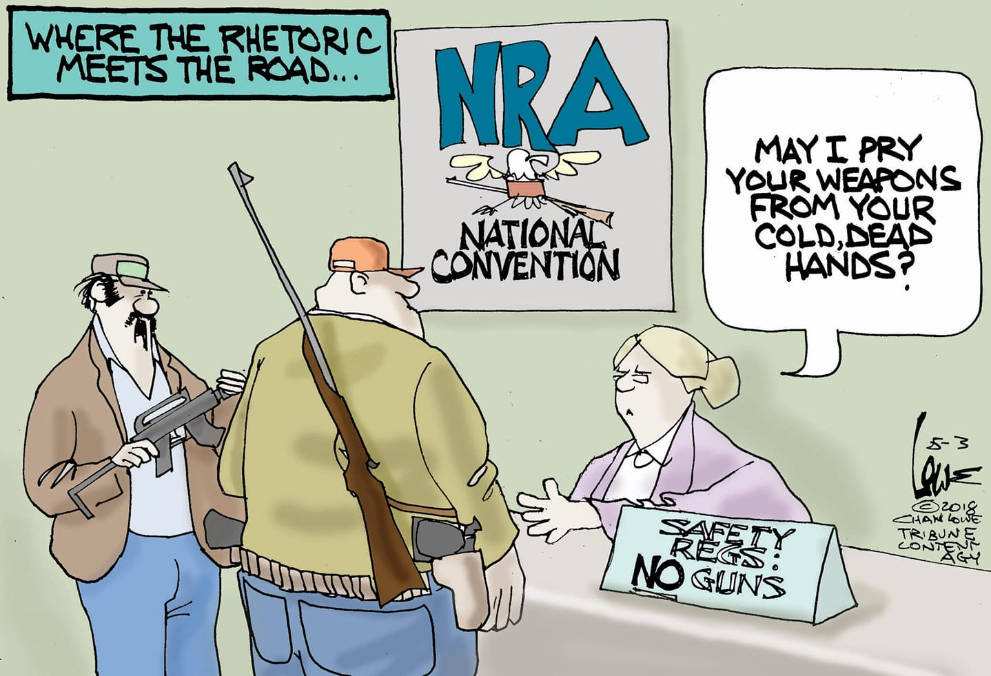 May 5: NRA Convention
