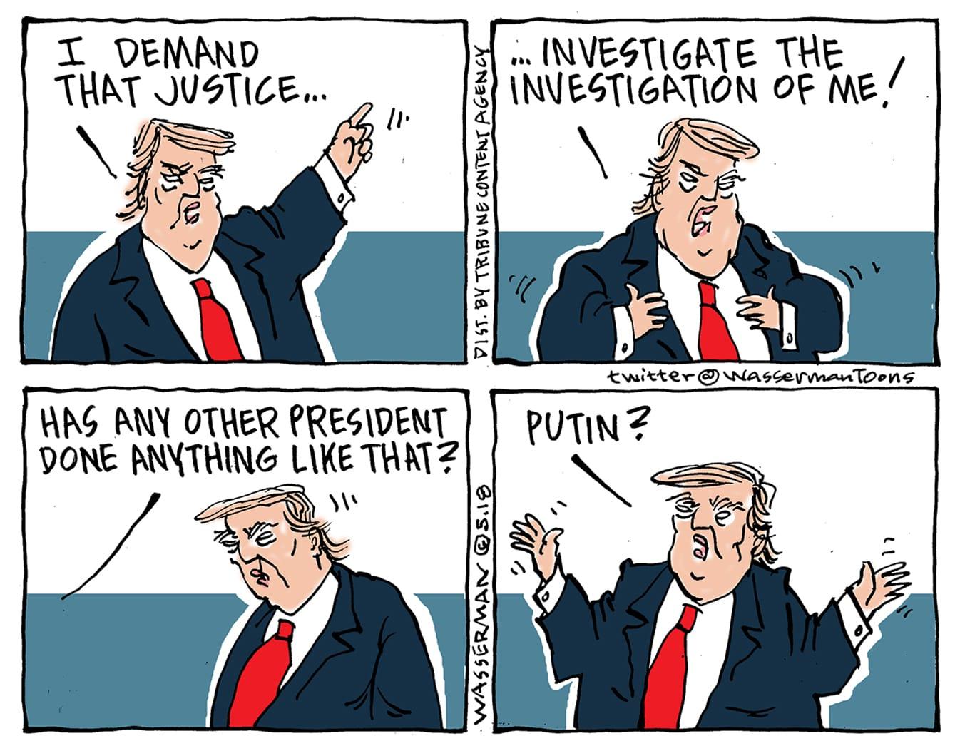 May 26: Trump Investigation