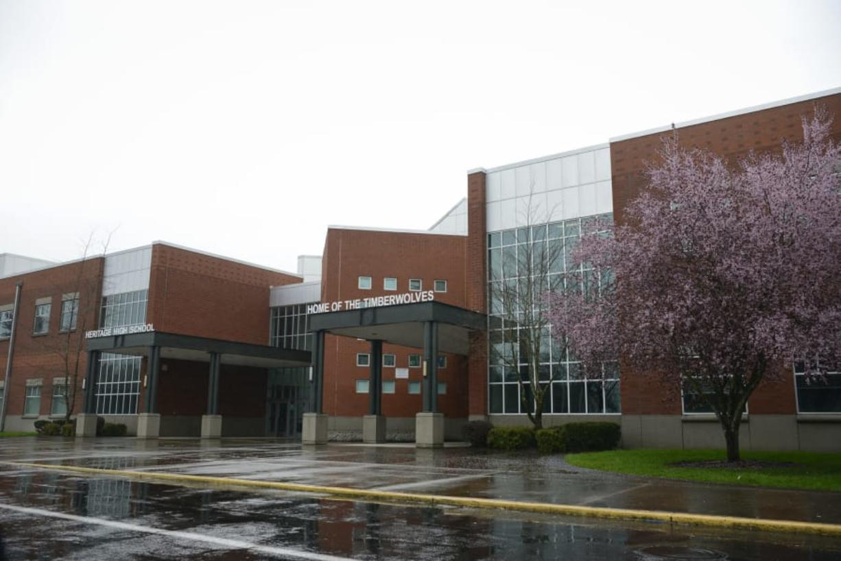 Heritage High School in Vancouver is among the Evergreen Public Schools that will see a change in administrators next school year. (The Columbian files)