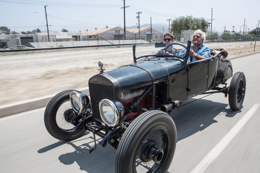 Tv star brings jay leno s garage to hazel dell man s for Garage mj auto