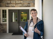 Hospice nurse Betty Martinsen at Community Home Health & Hospice in Salmon Creek.