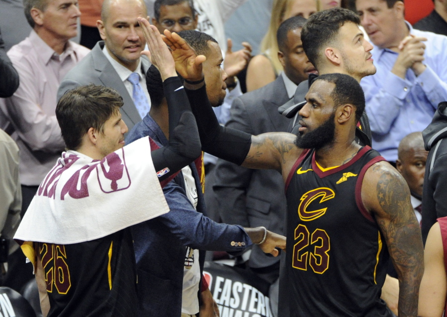 dc52d8df58f3 LeBron pushes Cavs to Game 7 vs. Celtics