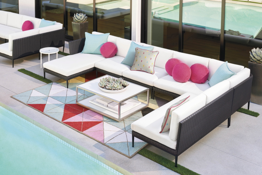 Posh On The Patio: Extend Your Living Room Outside With These Products