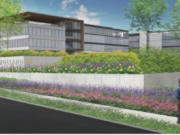 A rendering of the new headquarters for Holland Partner Group just south of 38th Street in Camas, which is slated to start construction this summer. The city approved the plan Monday.