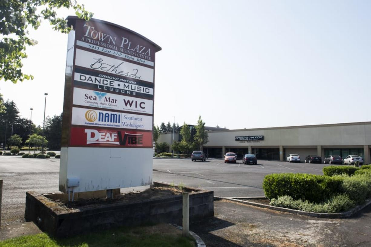Current tenants of Vancouver's Tower Mall plan to stay put for now, as the city looks to redevelop the area. (Alisha Jucevic/The Columbian)
