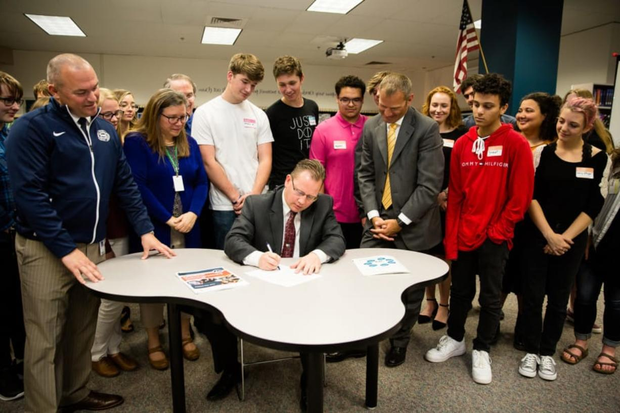 After funding fight, state superintendent sees opportunity to.
