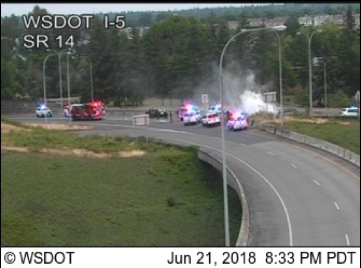 High-speed pursuit from Cowlitz County ends in Vancouver
