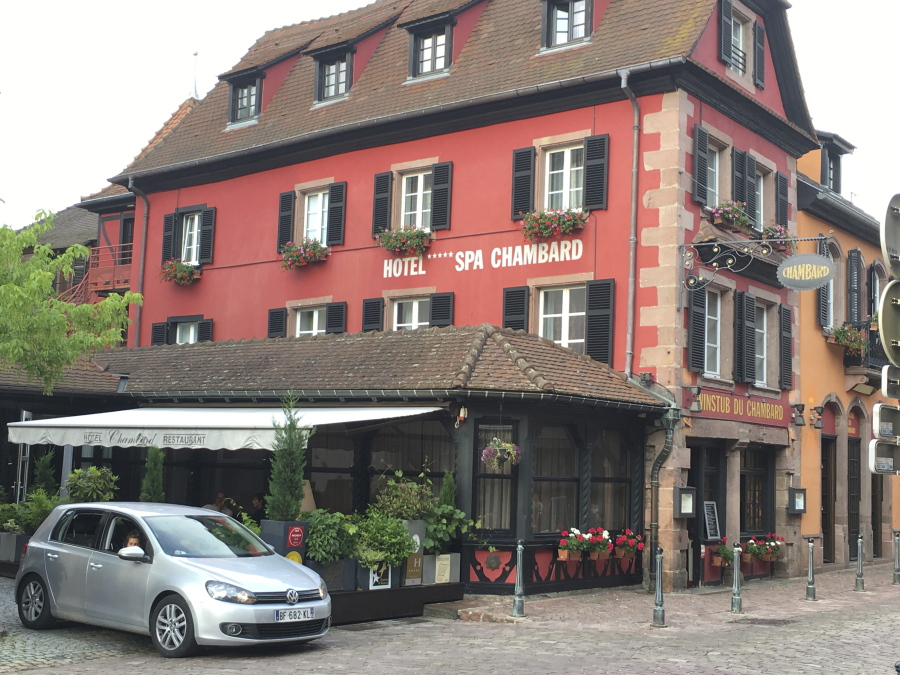 a general view of the le chambard hotel where tv chef anthony bourdain was found - Olive Garden Review