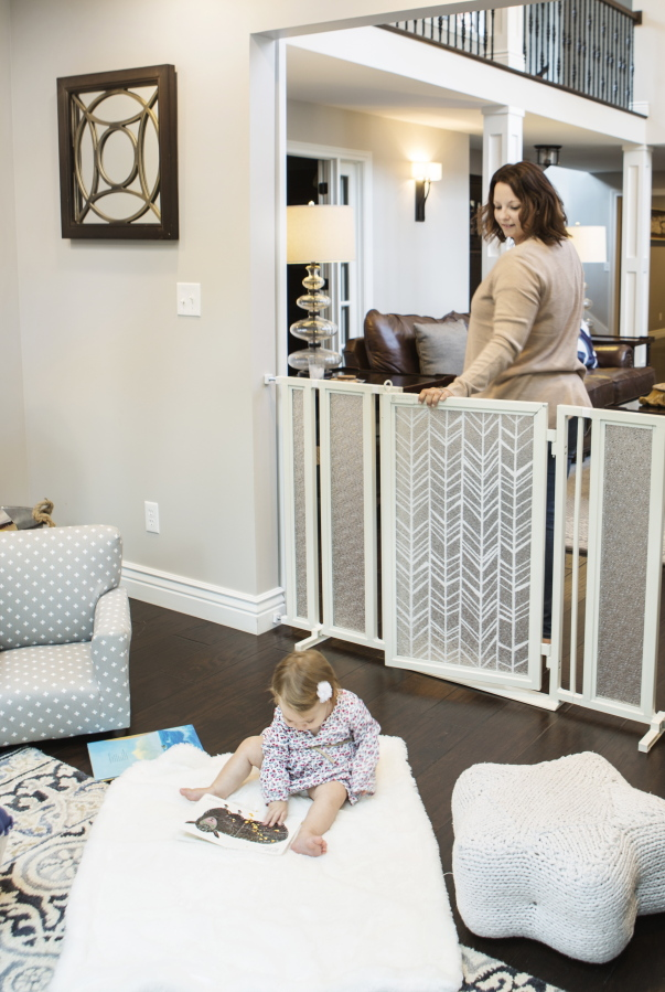 3d8e85e72 Beyond the plastic gate  Baby-proofing in style