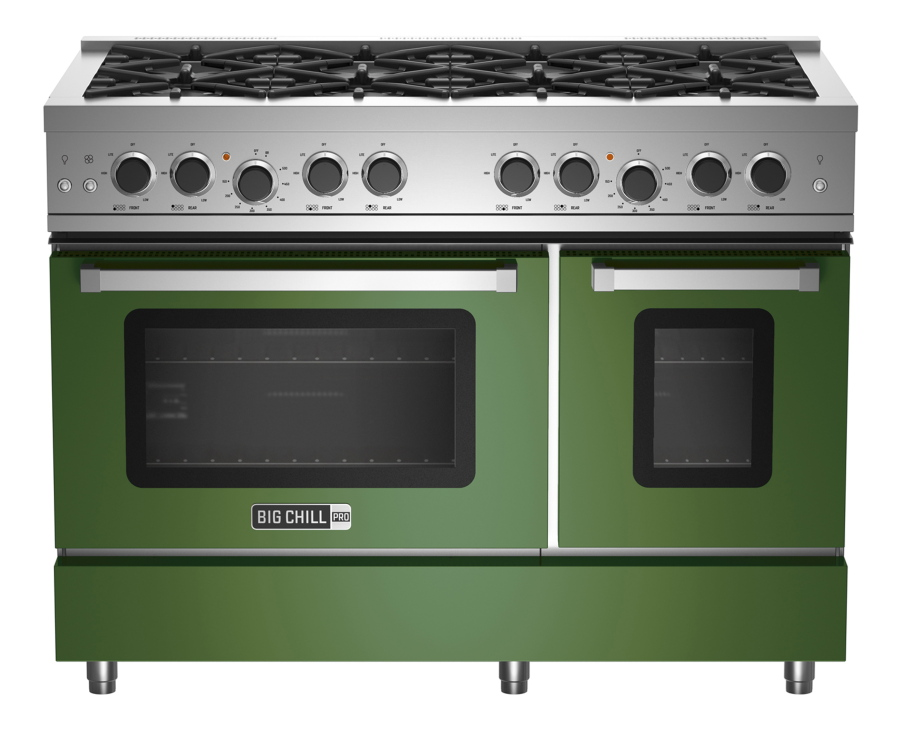 Big Chillu0027s Pro Style Range, Which Has 8 Professional Level Burners And A  Large