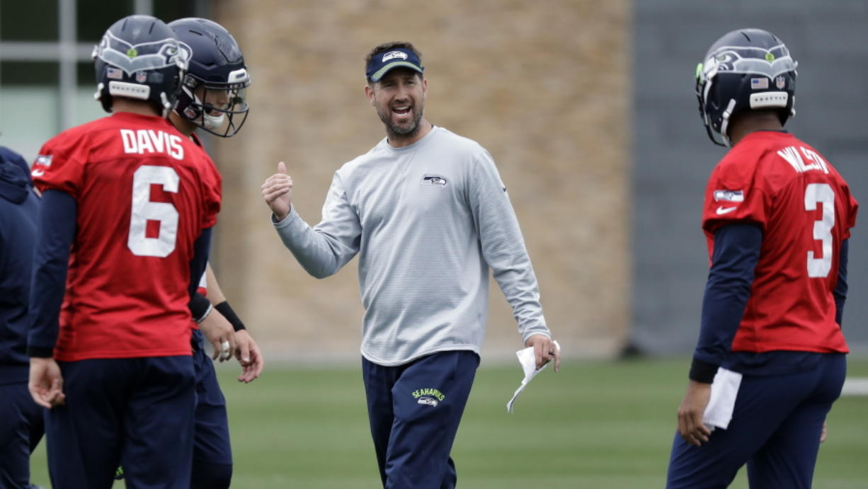 Seattle Seahawks offensive coordinator Brian Schottenheimer was fired Tuesday.