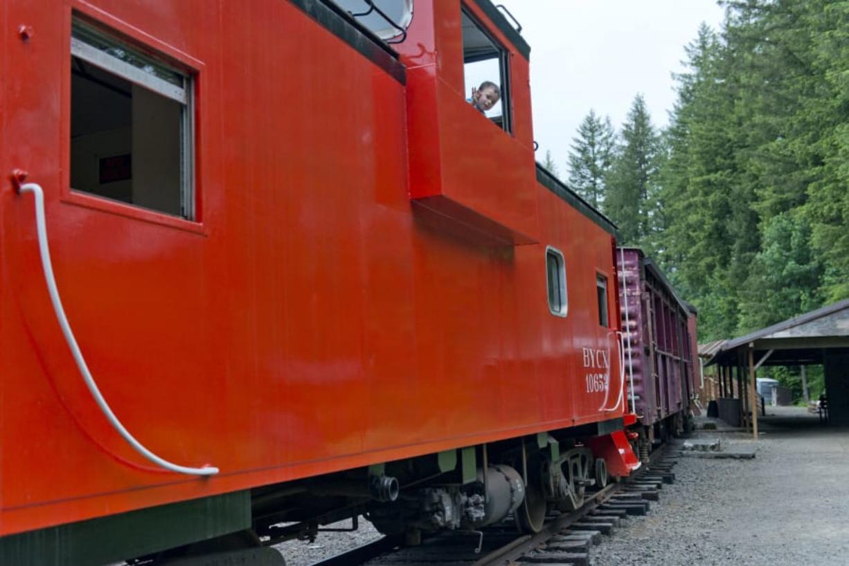 Go: Chelatchie train robbery, monster trucks, history walk