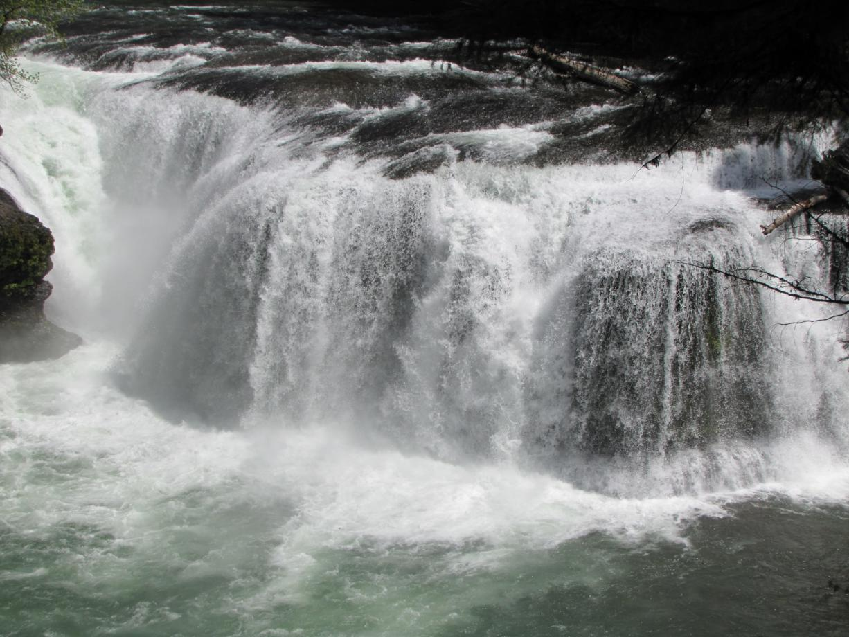 Lower Falls on the Lewis River has become more popular than the site can handle. The U.S. Forest Service is trying to take the pressure off and urging people to visit similar sites in the Gifford Pinchot National Forest.