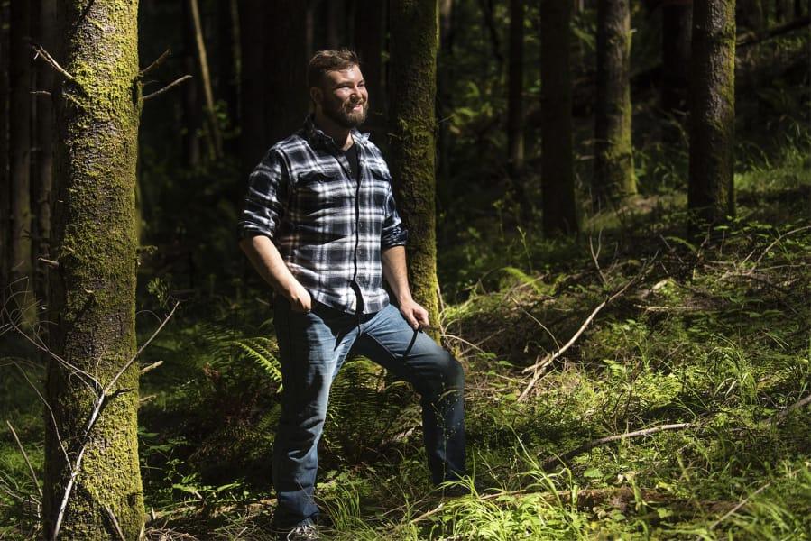 working in clark county  hunter decker  forester  clark county public works