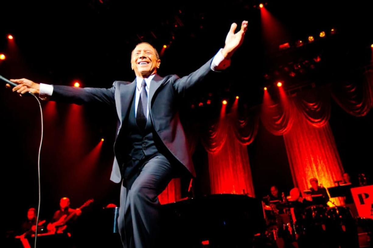 Paul Anka sings the songs of Frank Sinatra - including songs Anka wrote his way - at ilani on Oct. 11.