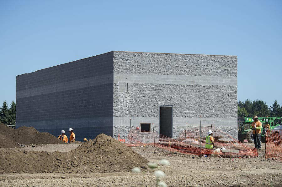 Storage Site Carmax Taking Shape Near Padden Parkway The Columbian