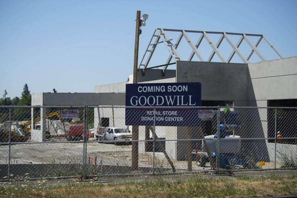 The store will be Clark County's sixth Goodwill. It is expected to open in December, according to representatives.