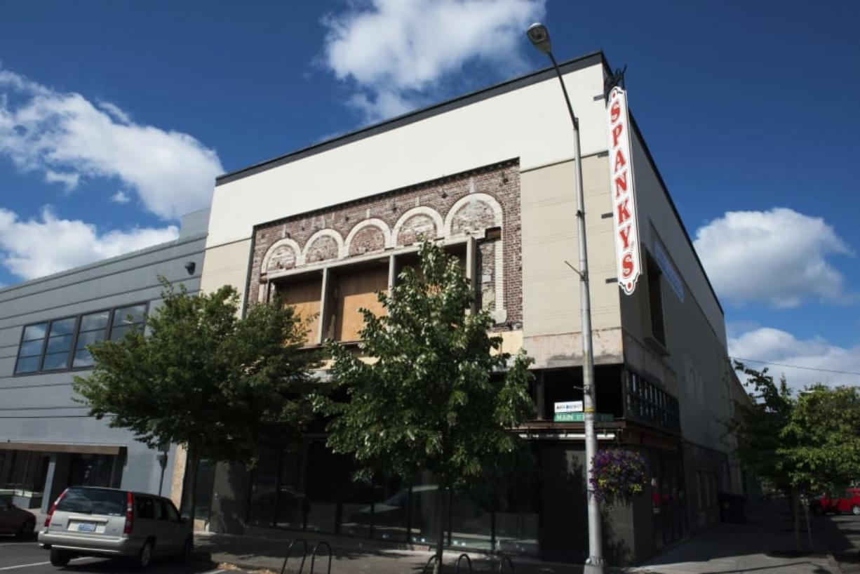 The building at 812 Main St. in Vancouver, the last tenant of which was Spanky's Consignment in 2008, is being brought back up to code, city officials and local business leaders said. Property owners in the area say there could be more news about the building in the coming weeks.