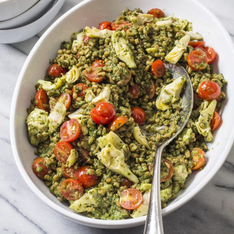 America S Test Kitchen Farro Salad