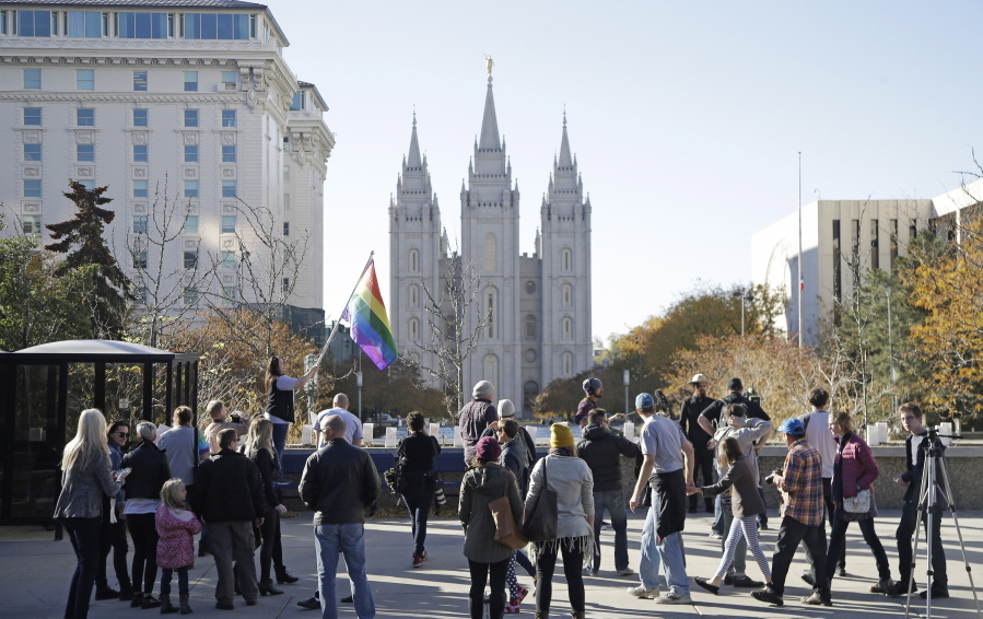 Mormon church to add gay couples to database - Columbian com