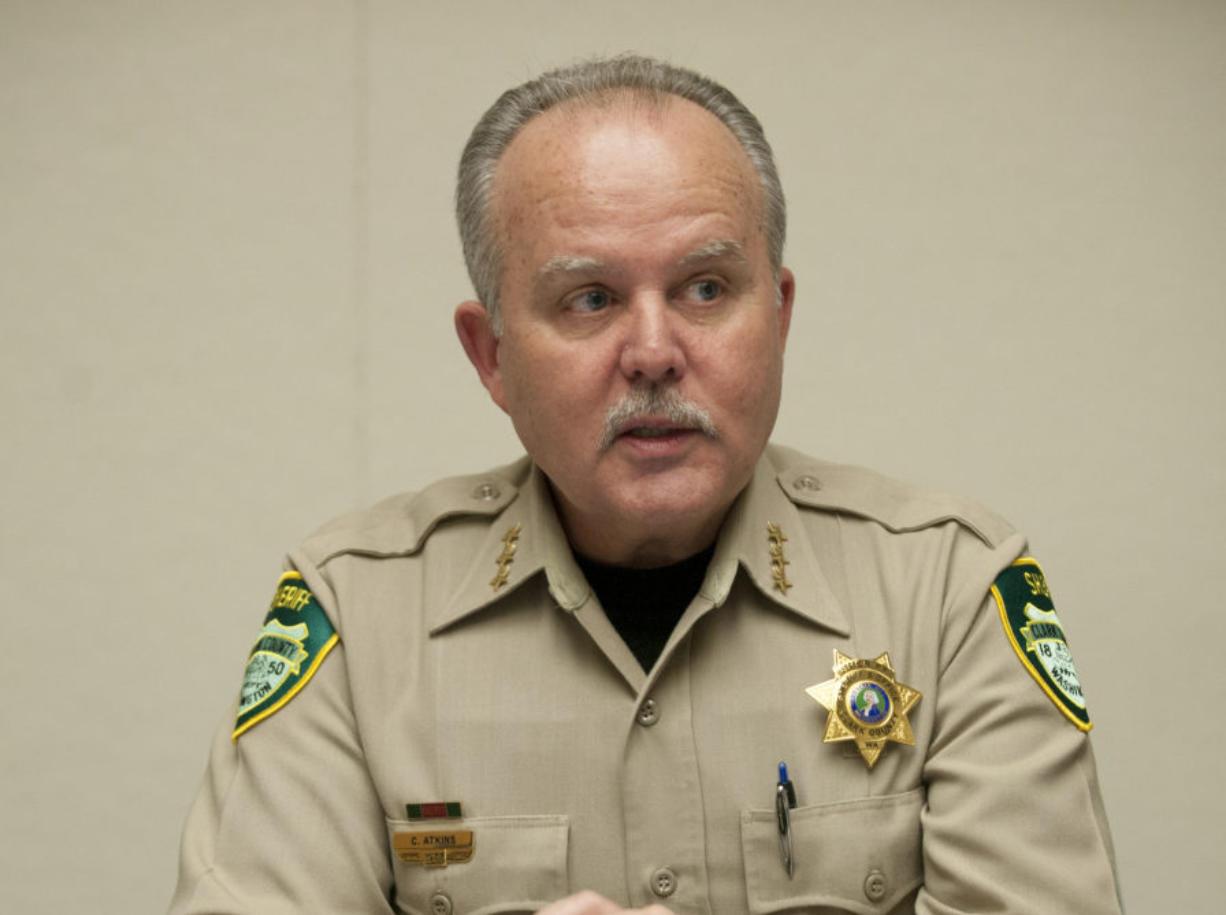 Chuck Atkins Clark County Sheriff