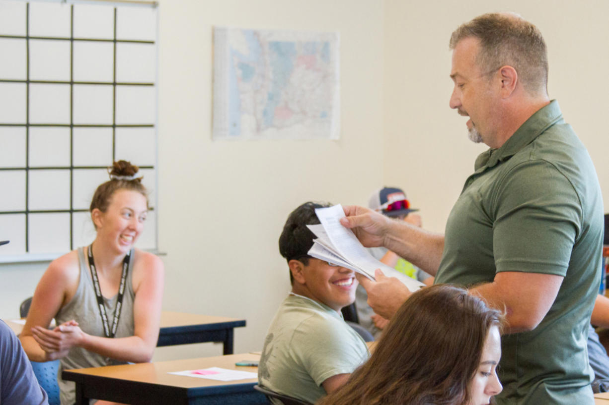 Woodland: Woodland High School math and science teacher Keith Clevenger spent his fourth straight summer helping students catch up by teaching summer school.