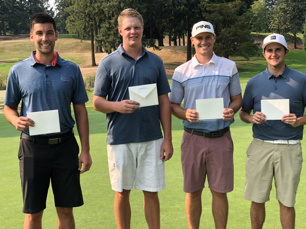 Local qualifiers from Oswego Lake CC for the 2018 U.S. Mid-Amateur  Championship included Michael