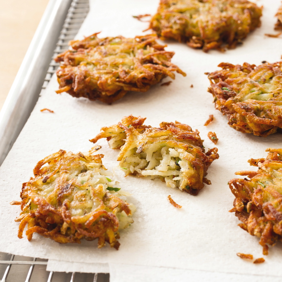 potato latkes from all time best appetizers carl tremblayamericas - Americas Test Kitchen Baked Potato