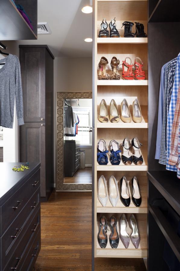 This Photo Provided By Case Design Shows A Closet Designed By Elena  Eskandari, An Interior