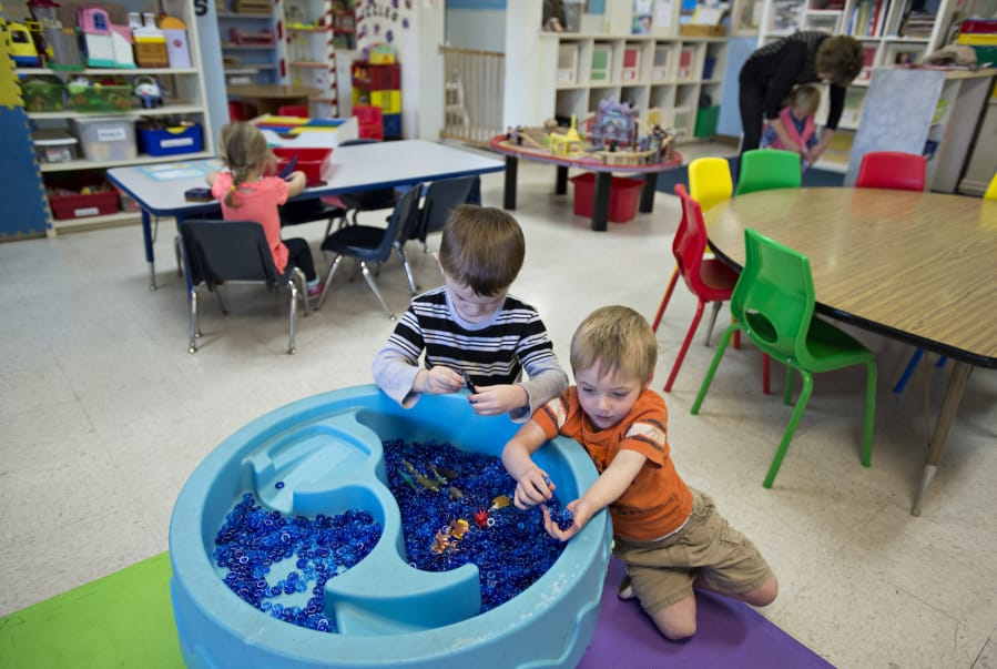 Open House Ministries Day Care Uses Sensory Toys To Help Make