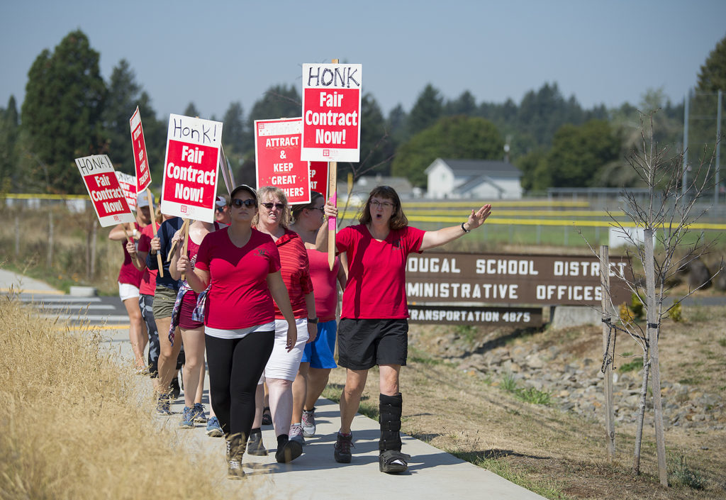 Washougal Teachers Union District Reach Tentative Agreement The