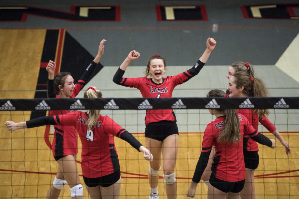 5717fea2 Volleyball: New adjustments pay off in Camas' 4A GSHL win ...