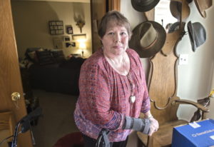 Ramona Poppe of Onalaska, Wash., understands the risk of using opioids, but she wants to maintain th