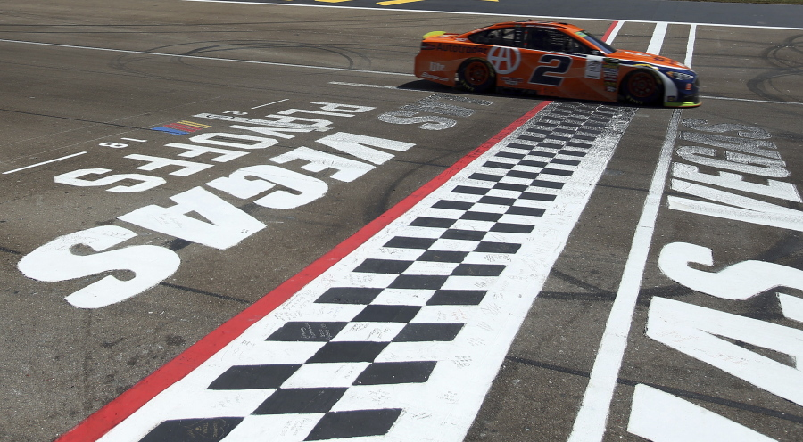 Las Vegas Auto Sales >> Keselowski wins NASCAR playoff opener | The Columbian