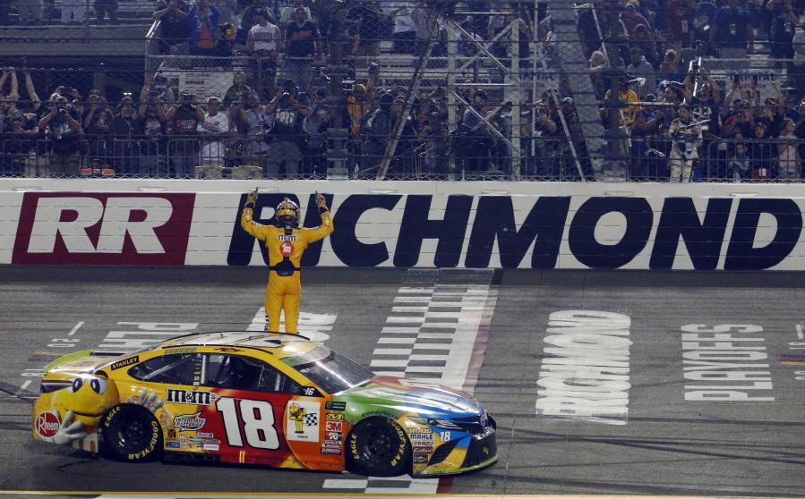 Northwest Auto Sales >> Kyle Busch wins NASCAR Cup Series playoff race at Richmond ...