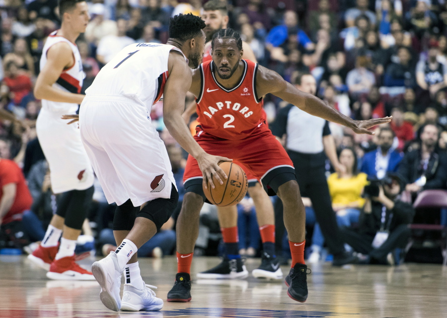 Trail Blazers Lose NBA Preseason Opener To Raptors The