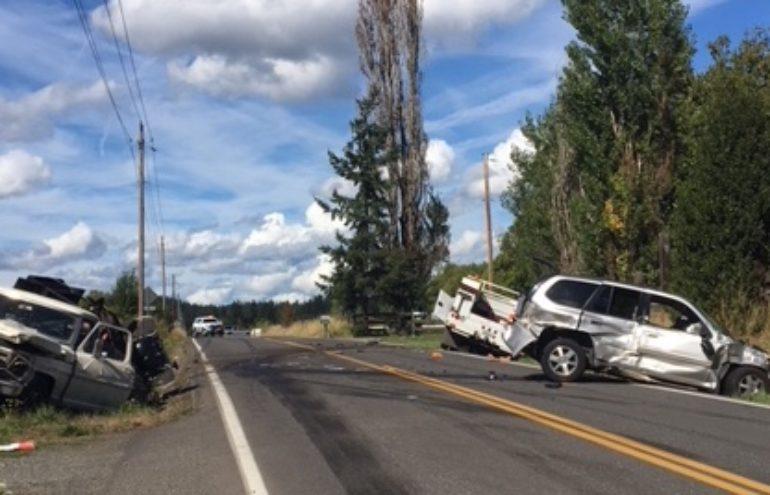 Driver killed in three-vehicle crash in Battle Ground ID'd