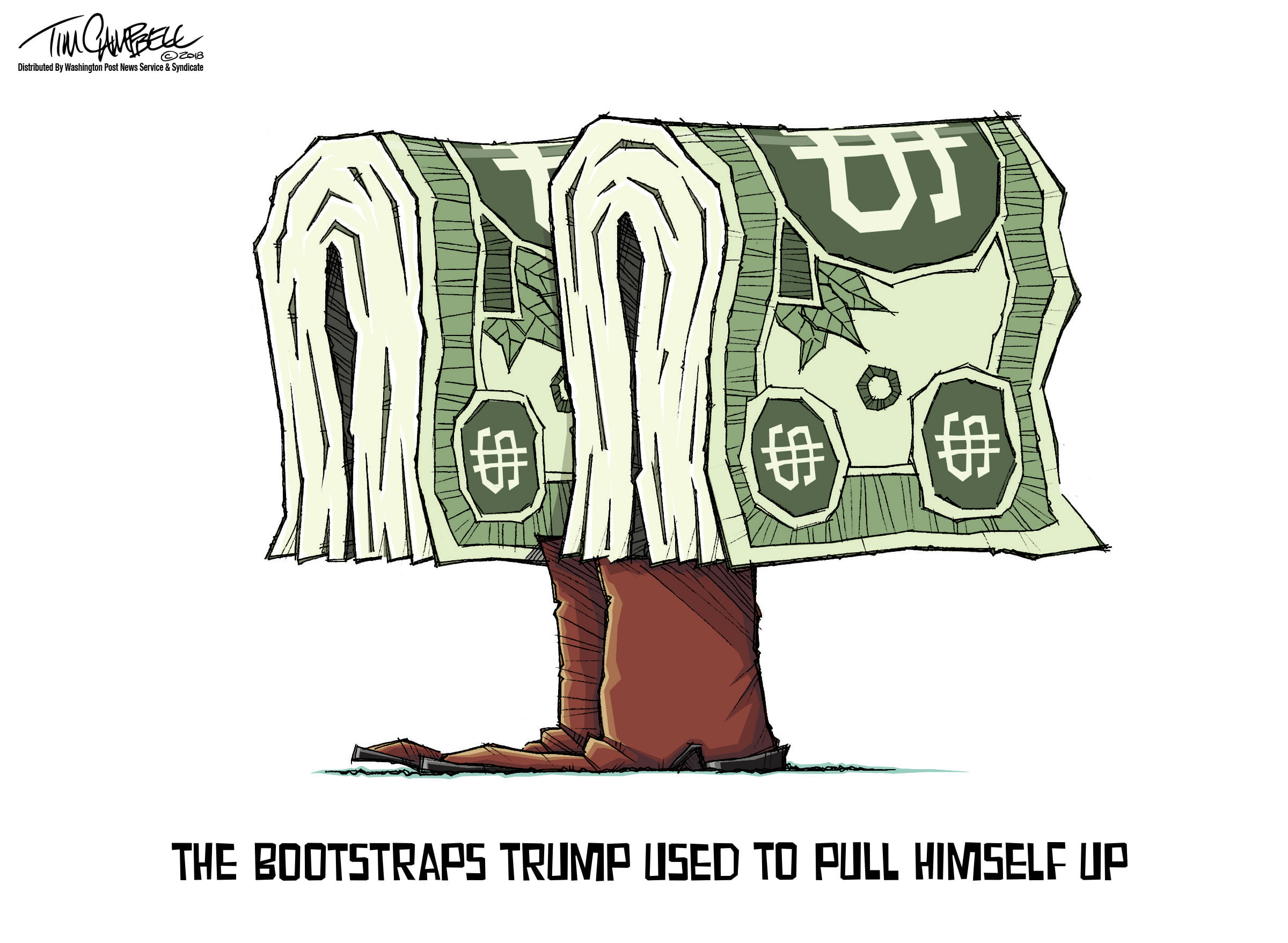 Oct. 6: Trump Bootstraps