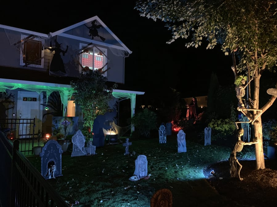 Halloween Decorations Are For Spooking Building Community The