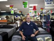 Jeff Weinstein, owner of the Mattress Factory Outlet near Vancouver Mall, is ready to retire.