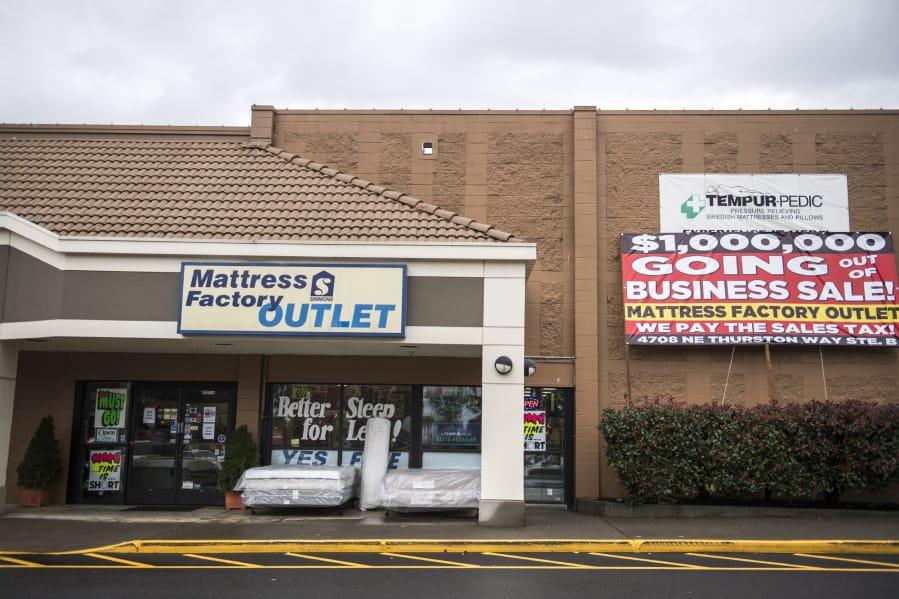 3868284063 Closing of Mattress Factory Outlet the end of an era