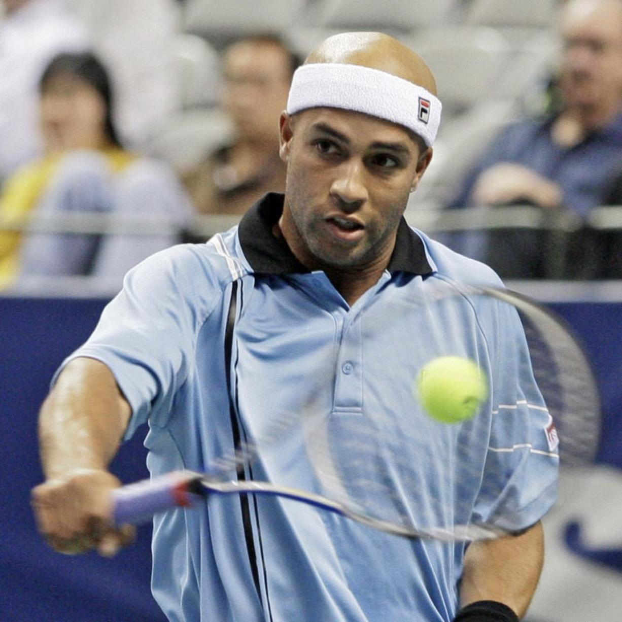Former U.S. tennis player James Blake will visit the Vancouver Tennis Center on Nov. 3, 2018.