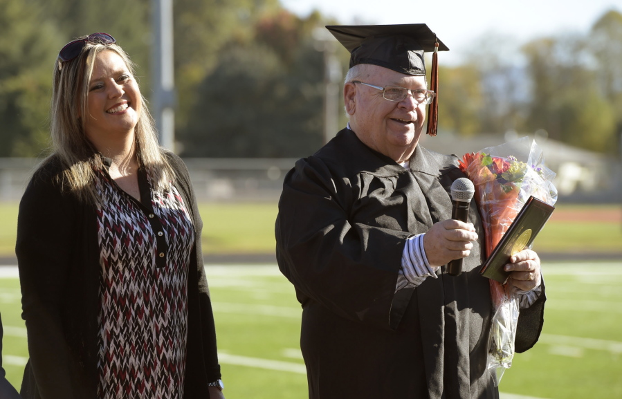Oregon Man Gets High School Diploma 53 Years Late The