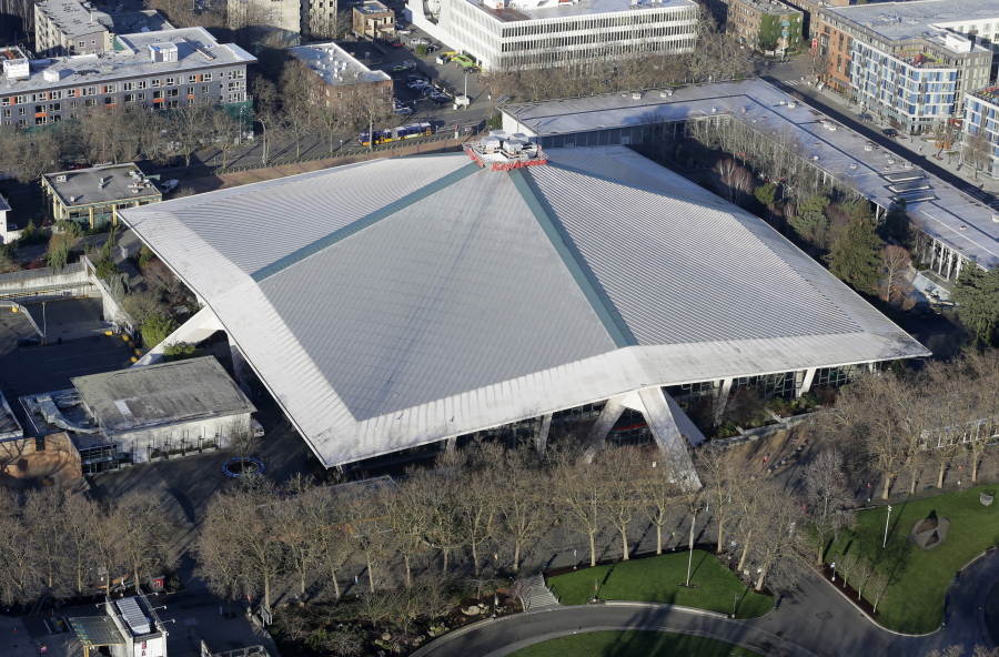 KeyArena pictured in January 2015, has been the host for sports and entertainment events. (AP Photo/Ted S.